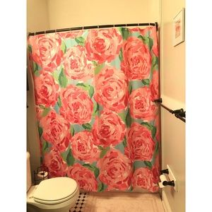 Lilly Pulitzer First Impressions Shower Curtain